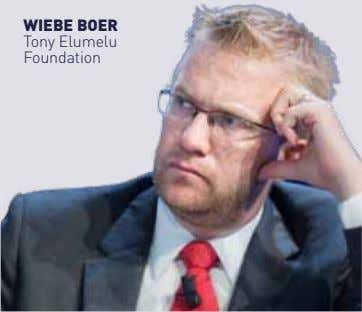 wIebe boer Tony elumelu Foundation