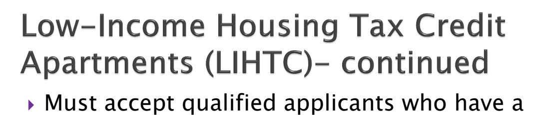  Must accept qualified applicants who have a