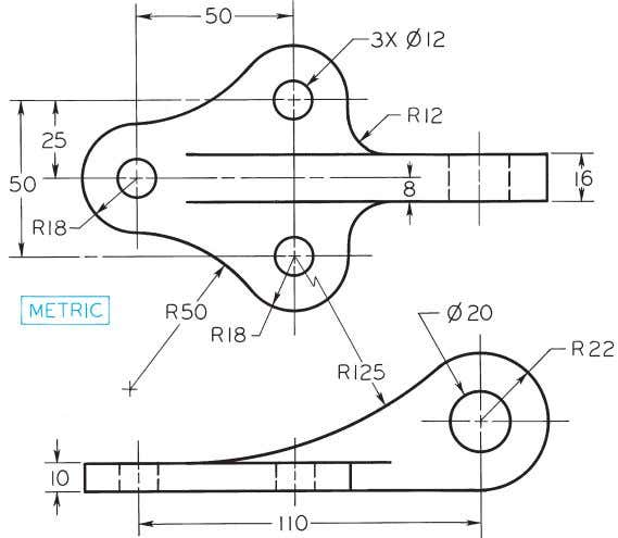 © 2003, Prentice-Hall, Inc. Giesecke Technical Drawing, 12e Figure 4-73 (Prob. 4.56) Boiler Stay.