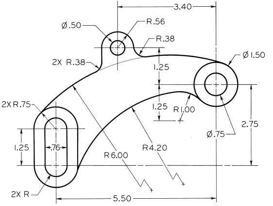 © 2003, Prentice-Hall, Inc. Giesecke Technical Drawing, 12e Figure 4 - 75 (Prob. 4.58) Shift
