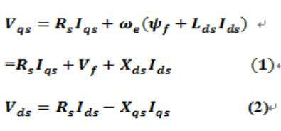 terms to zero. The following are the steady-state equations: Also it holds here, except the machine
