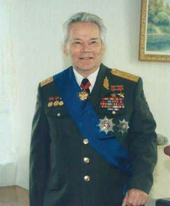 "as it was to defend the motherland"" (Florey 2006). Figure 1: General Kalashnikov today. (Source: Vodka"