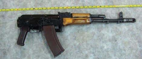 an Figure 10: AK-74, NFC collection. (Photo: author) Figure 11: AKS-74, NFC collection. (Photo: author)
