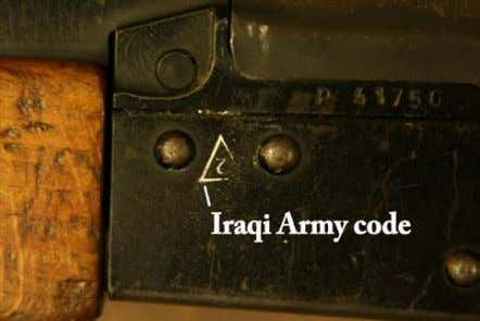rifles have been produced in Russia and assembled in Egypt. Figures 15 and 16: Hungarian AKM