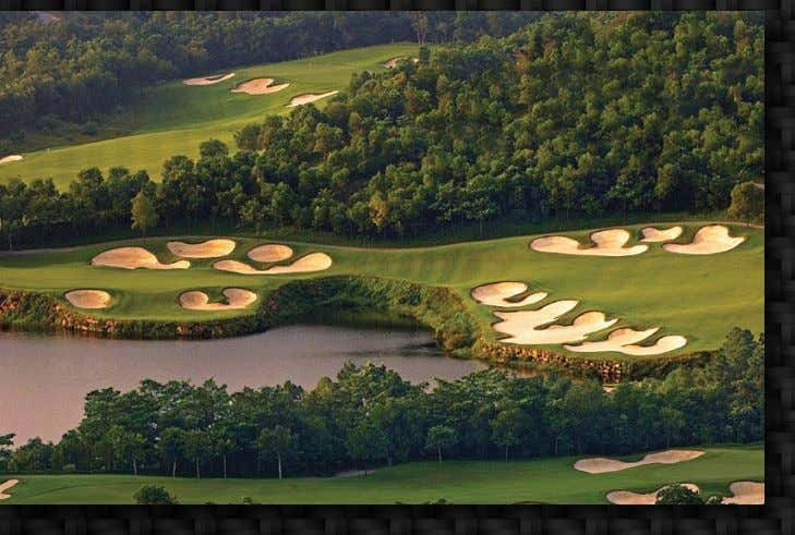 the world's leader in golf course construction management COMPLETED PROJECTS Mission Hills Shenzhen Schmidt-Curley