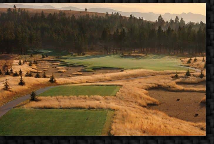 the world's leader in golf course construction management COMPLETED PROJECTS The Wilderness Club Nick