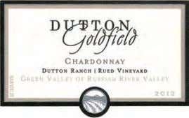 87 94 Dutton-Goldfield 2012 Dutton Ranch Rued Vineyard Chardonnay (Green Valley). Darker and riper in tone