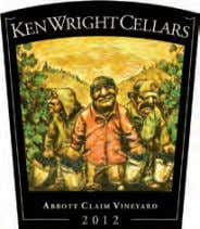 97 Ken Wright 2012 Abbott Claim Vineyard Pinot