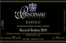 53 96 Principiano Ferdinando 2010 Ravera di Mon- forte (Barolo). This powerfully structured wine offers earthy
