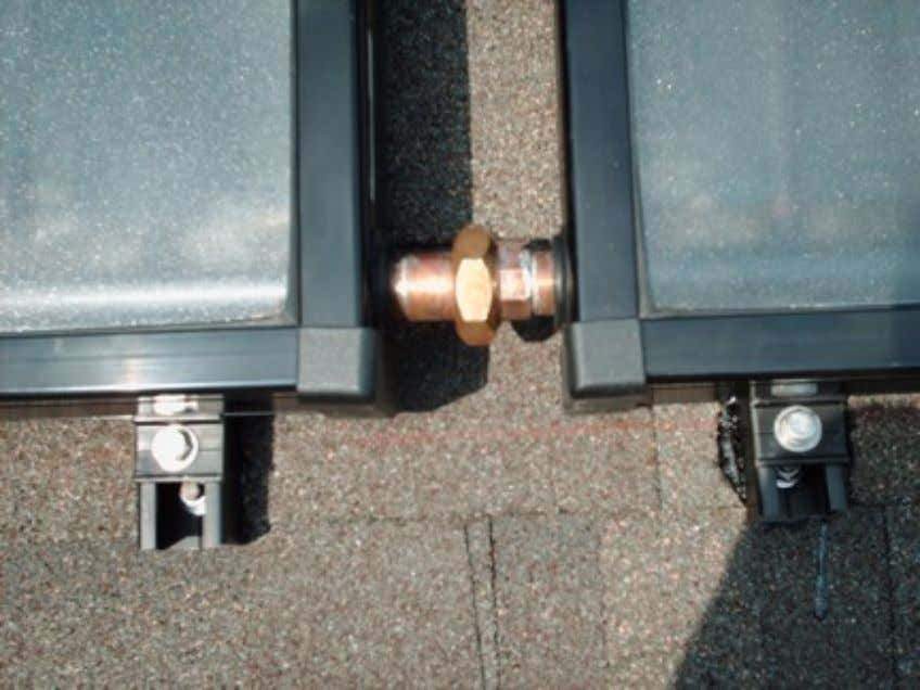 Guide to Selecting & Installing a Solar Hot Water Heater Copper Union: sweat on the ground