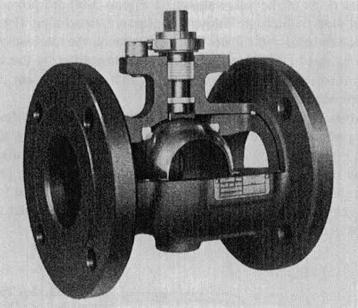 Manual Valves 1 1 1 Figure 3-61. Ball Valve with Floating Ball and Torsion Seats, with
