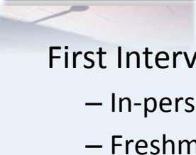 ATD at LASC Since … 1967 First IntervenGon: –   In-person OrientaGons –   Freshman Experience