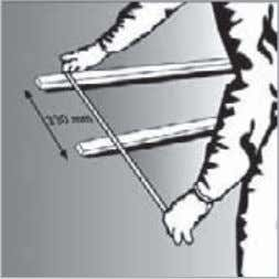 3. Repair/resume weatherproofing membrane (optional). 4. Measure distance between stringers. In order to enable