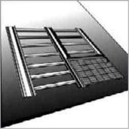 9. Install the first horizontal row of roof tiles. Install the first horizontal row of