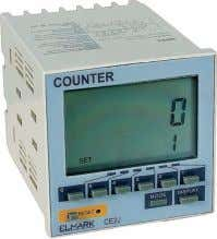 TIMERS, RELAYS AND DISPLAYING DEVICES Digital counters Documents corresponding to the product: Standard EN 61010-1