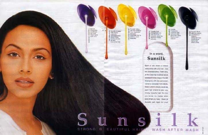 M M ISSION ISSION S S TATEMENT TATEMENT The New Sunsilk Shampoo aims at fulfilling the