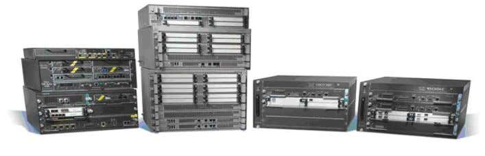 The Cisco ASR 1000 Series delivers multiple services embedded in the Cisco QuantumFlow Processor at wire