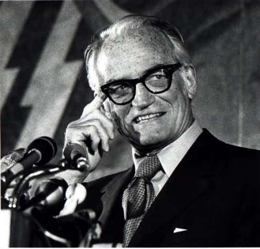 from Arizona (1953 – 1965, 1969 – 1987) and the Republican Party's nominee for President in