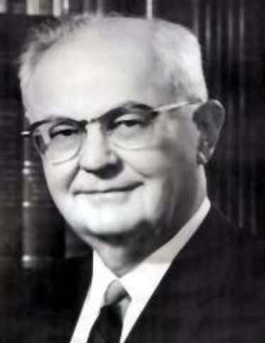 Wright Patman (1893 – 1976) chair of the United States House Committee on Banking and Currency