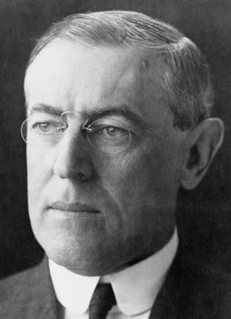"set up above the forms of democracy."" — president Woodrow Wilson (1856 – 1924) 28th President"