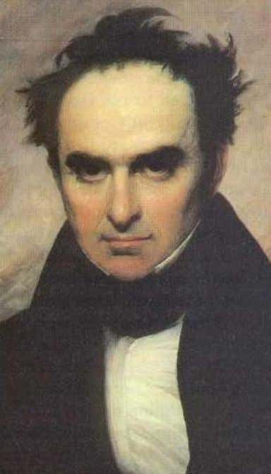 "corporations, cheated creditors and a ruined people."" — Daniel Webster (1782 – 1852) prominent American statesman"