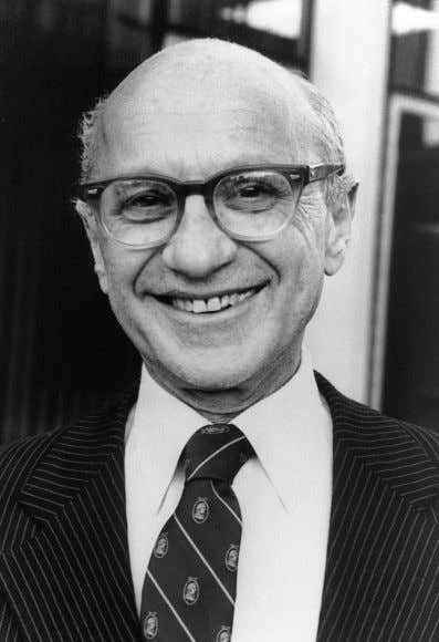 "a matter to be left to the Central Bankers.'"" — Milton Friedman (1912 – 2006) Nobel"