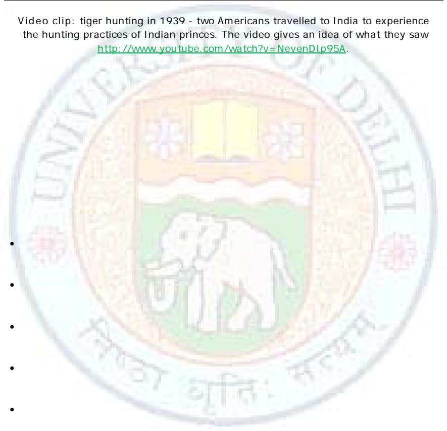 Video clip: tiger hunting in 1939 - two Americans travelled to India to experience the