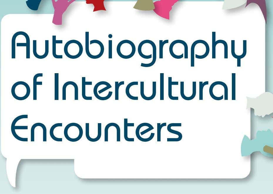 Autobiography of Intercultural Encounters Language Policy Division