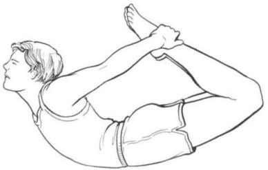 may be seen in the practices of Feldenkrais. bioenergetic Fig. I-I Yoga pos(!(res. A, Bow. B,