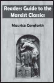 ○○○○○○○○○○ Readers Guide to the Marxist Classics Maurice Cornforth An