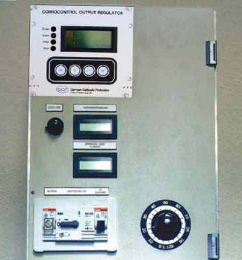 setting T/R-UNIT 1 RESIDUAL VOLTAGE COMPENSATION UNIT Characteristics automatic control without system deviation