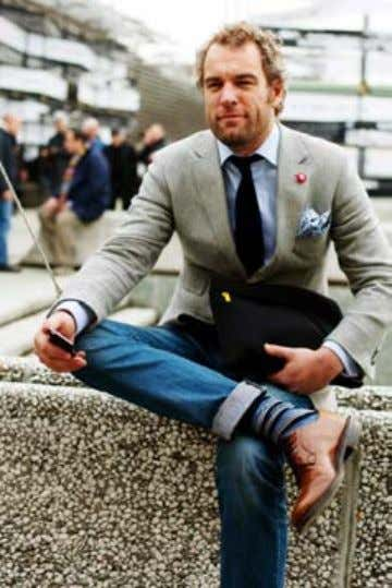 YOUR AGE Best Dressed Men in their 40's & Look book. Here's a great look book