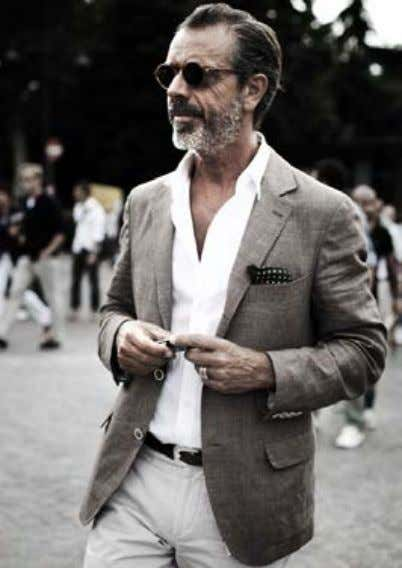 YOUR AGE Best Dressed Men in their 50's+ & Look book Here's a great look book