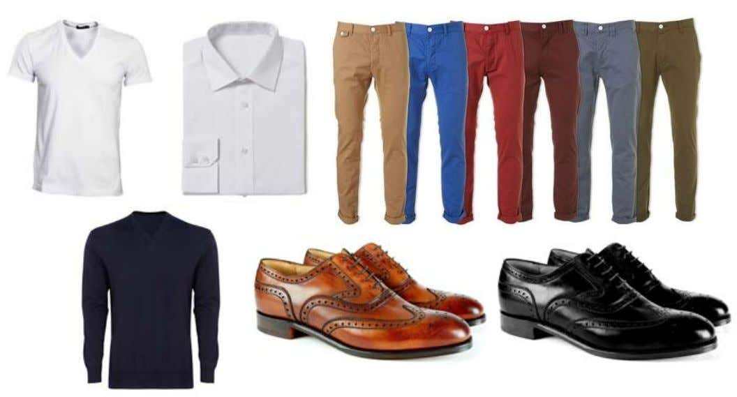 situation. Wear with a suit or with jeans or chinos. Brogues are a classic style shoe
