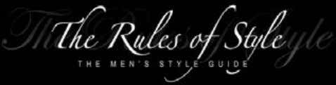 everything from the best cut of jeans to the colours that suit you best. www.therulesofstyle.com/style-guide-for-men 53