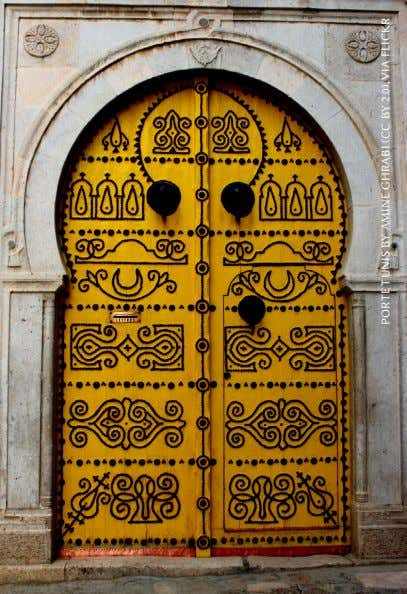 PORTE TUNIS BY AMINE GHRABI (CC BY 2.0), VIA FLICKR
