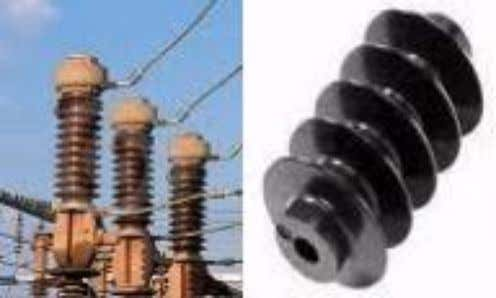 7. INSULATOR The insulator serves two purposes. They support the conductors (bus bar) and confine the