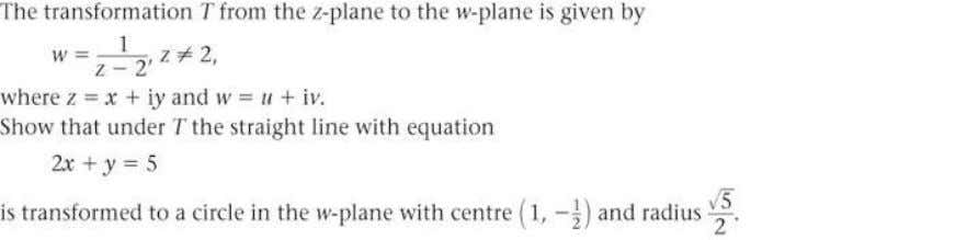 FP2 Edexcel AS and A Level Modular Mathematics Exercise A, Question 37 Question: Solution: © Pearson