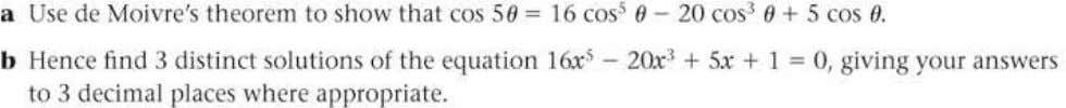 FP2 Edexcel AS and A Level Modular Mathematics Exercise A, Question 38 Question: Solution: © Pearson