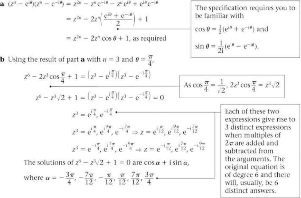 FP2 Edexcel AS and A Level Modular Mathematics Exercise A, Question 44 Question: Solution: © Pearson