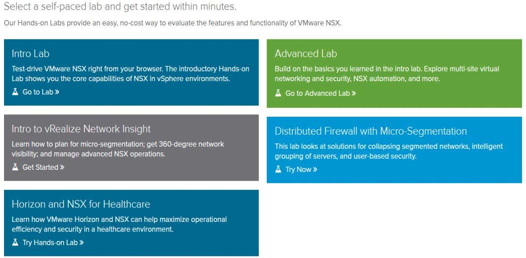 • https://www.vmware.com/sg/products/nsx/nsx-hol.html Confidential and proprietary information of Ingram Micro