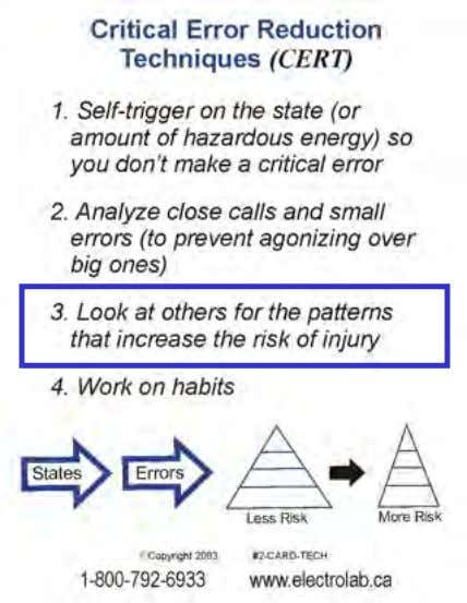 """Safety in the Real World"" Start Watching for the ""State to Error"" Patterns "