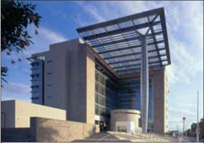 threat. A. Types of Protective Glazing Products and Systems Fig. 1. Las Vegas Federal Courthouse used