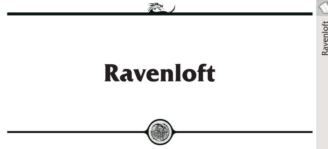 Ravenloft Ravenloft