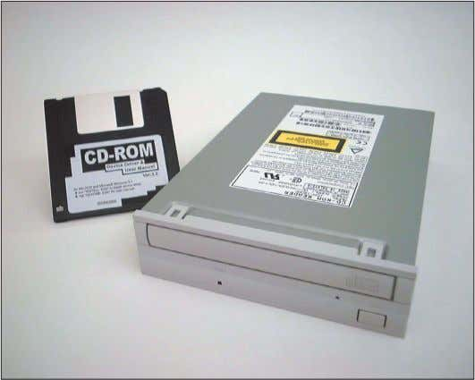 do first. Later chapters cover device driver installations. A device such as this CD-ROM drive comes