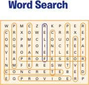 Word Search W P M C Z R K P P E R C R