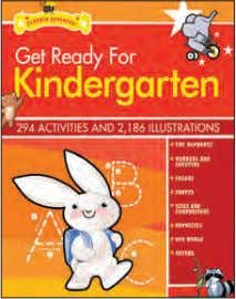 GET READY FOR PRE-K GET READY FOR KINDERGARTEN GET READY FOR FIRST GRADE GET READY