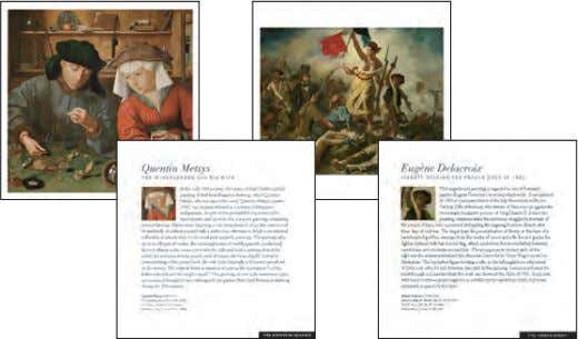 learn about the greatest works of the great master artists. $24.95 U.S. $29.95 Can./£18.99 U.K./$29.99 Aus.
