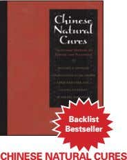 backlist bestseller chinese natural cures