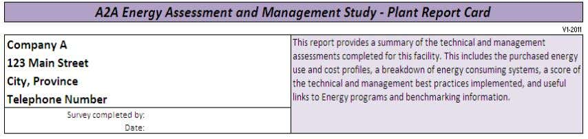 Exhibit 35: Report Card plant information to be checked Below the pie charts, product should be